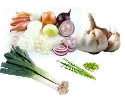 Zwavelhoudende groente